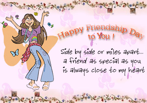 Happy Friendship Day Cards