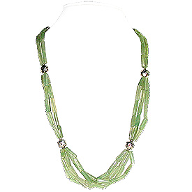 Green Aventurine Necklace 'Rainforest'
