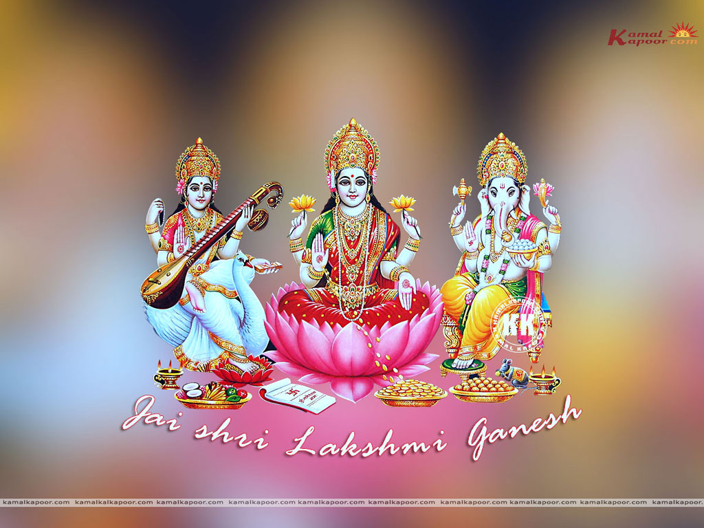 Lakshmi Ganesh | Send this Wallpaper to a Friend