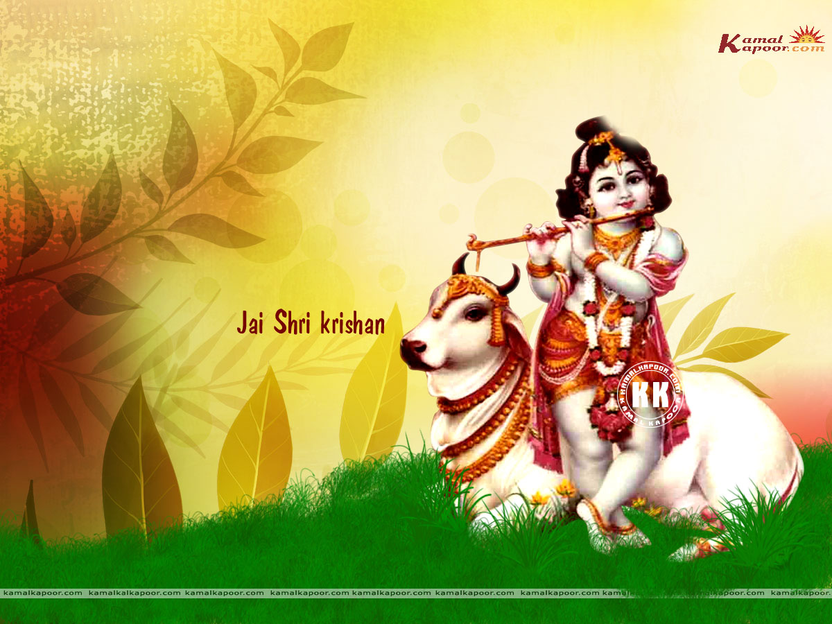 Krishna | Send this Wallpaper to a Friend