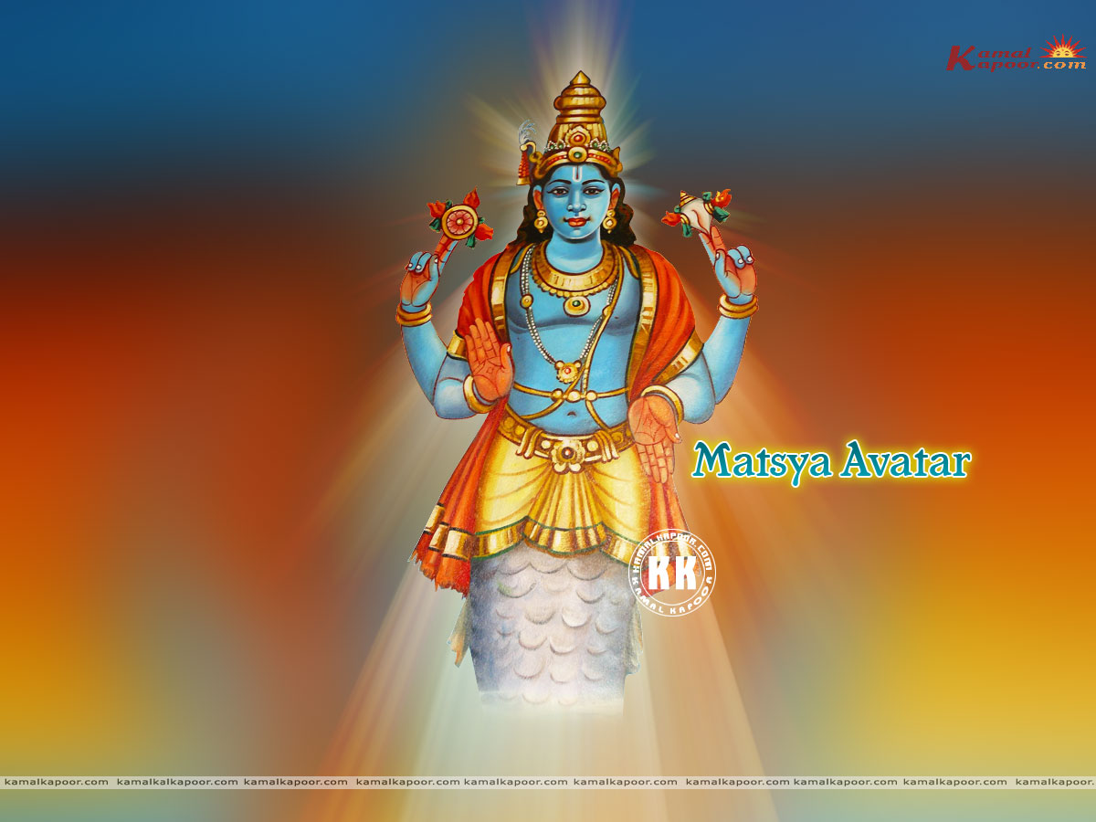 Matsya avatar send this wallpaper to a friend