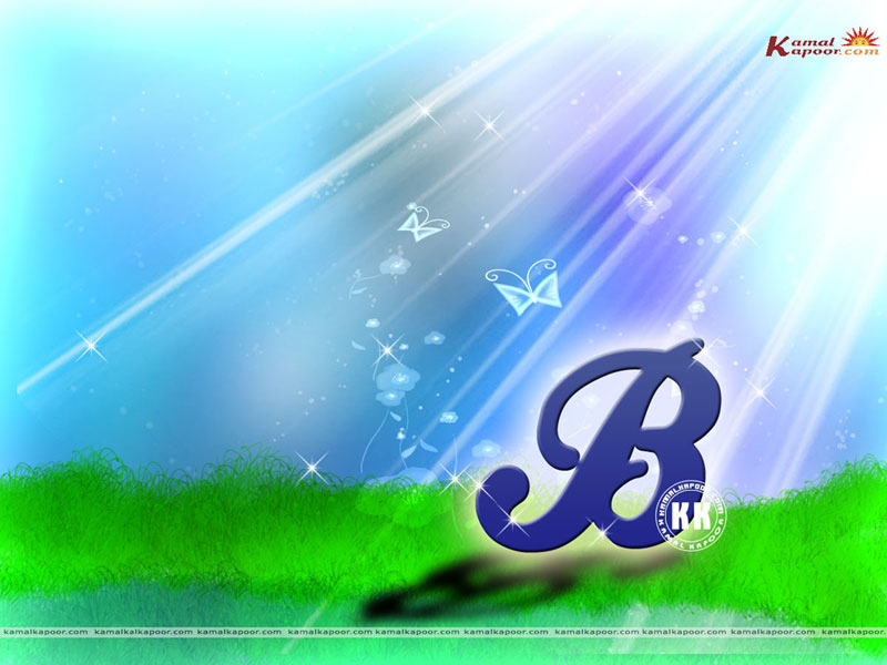 wallpapers images of b, cute new alphabet b wallpapers ...