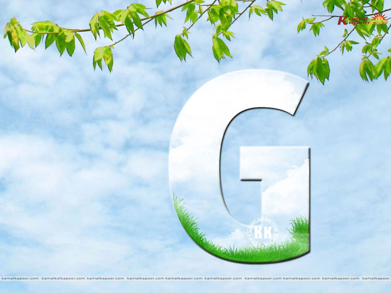 ... - Download ... G Alphabet Wallpapers