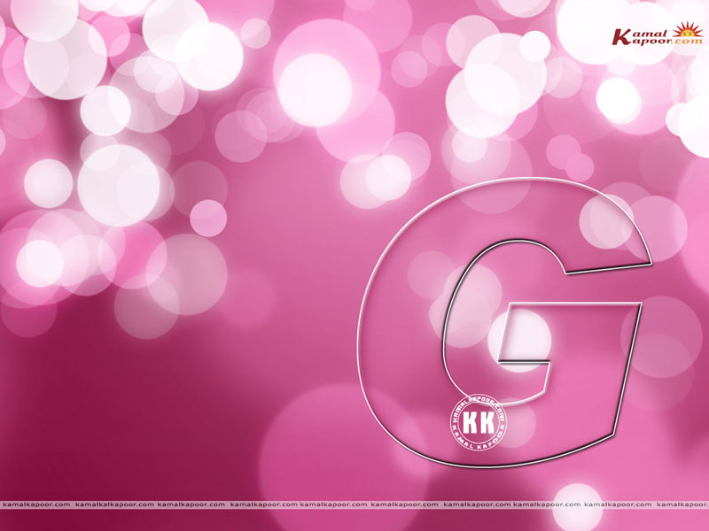 View wallpaper ... G Alphabet Wallpapers