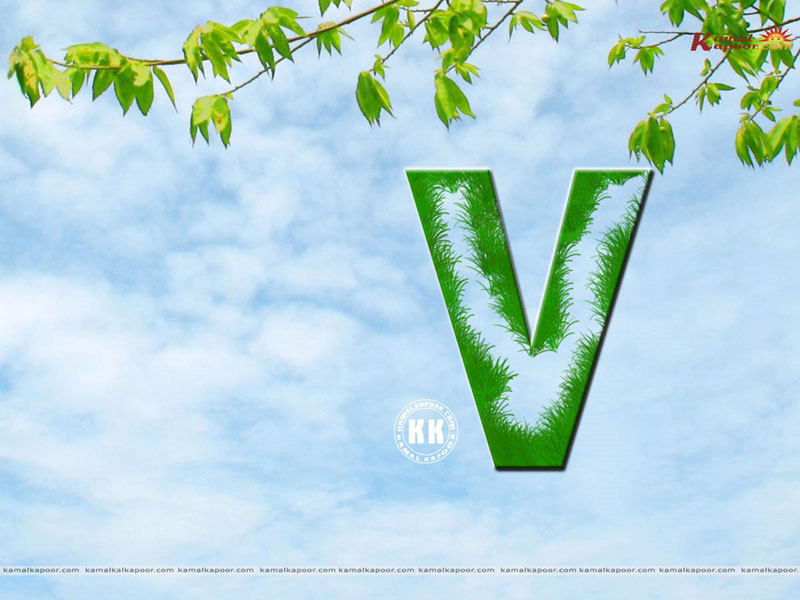 Hd Alphabet V Wallpapers For Pc New Mobile