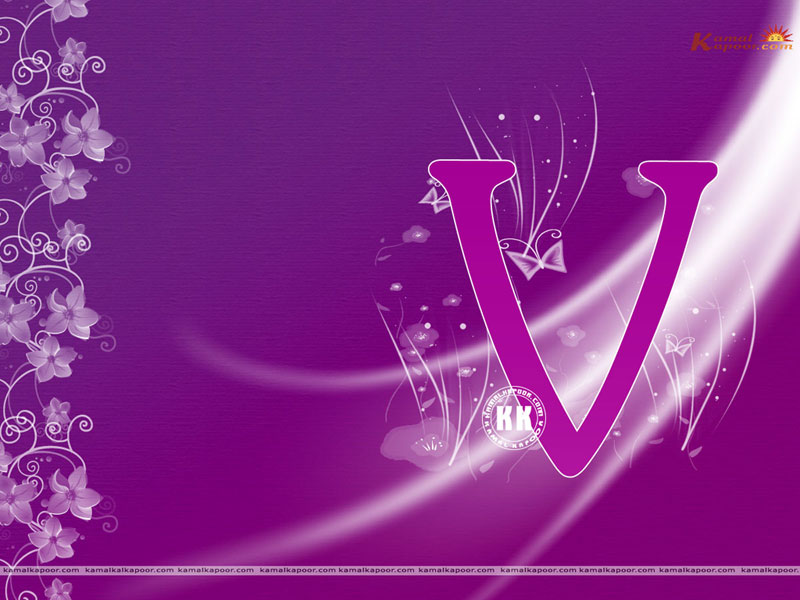 Hd Alphabet V Wallpapers For Pc Free