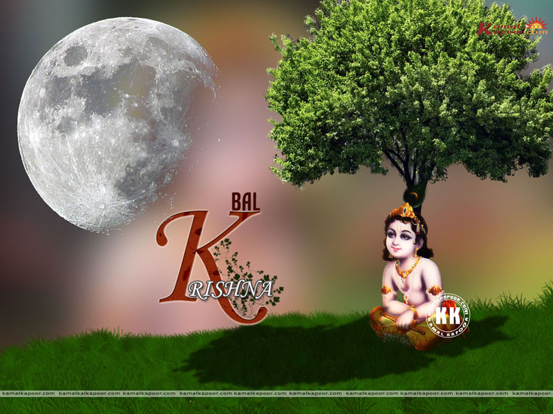 Baby Krishna Full Screen Wallpapers Vishnu Avtar Lord