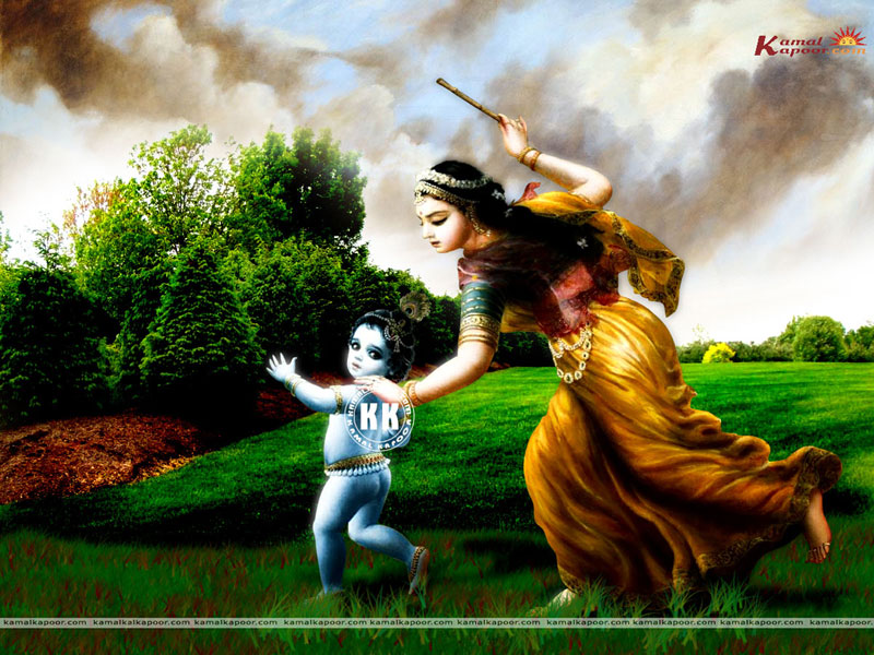 Beautiul Baby Krishna Wallpapers For Desktop, Baby Krishna
