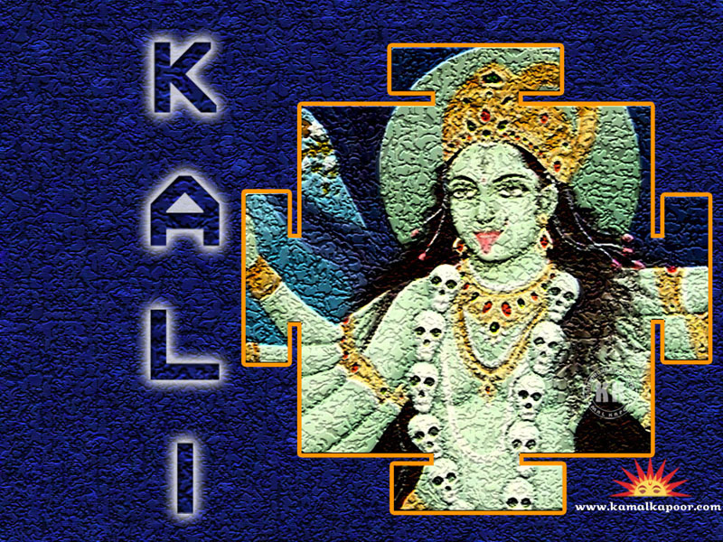 kali wallpaper hindu goddess