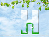Alphabet H Wallpaper