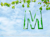 Alphabet M Wallpaper