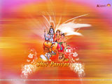 Shiv Parivar Wallpaper